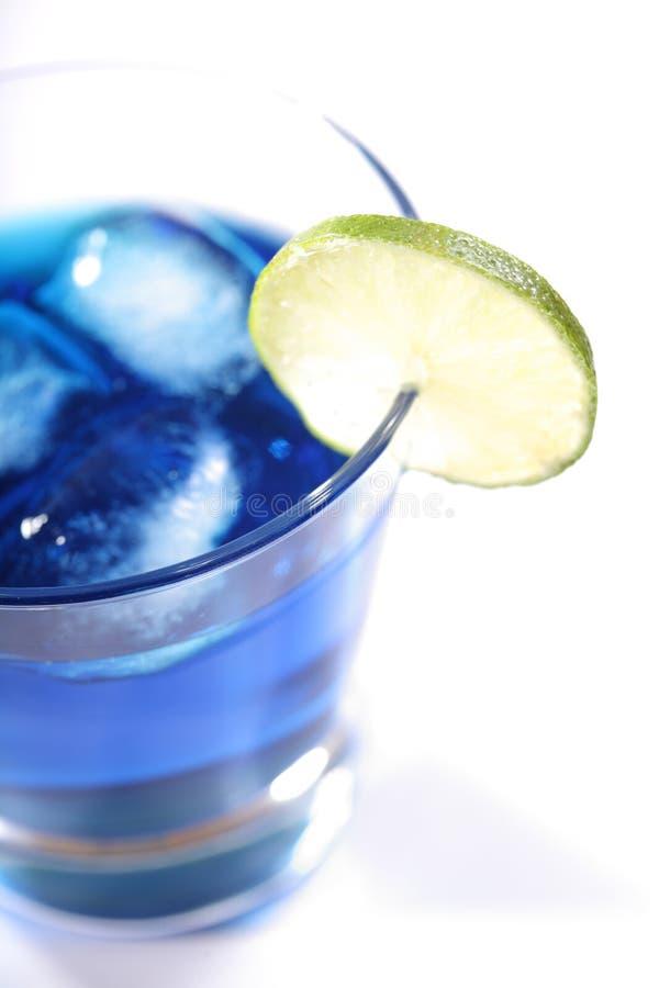 Groene kalk in het glas koud sodawater royalty-vrije stock afbeeldingen