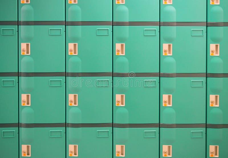 Groene kasten stock foto's