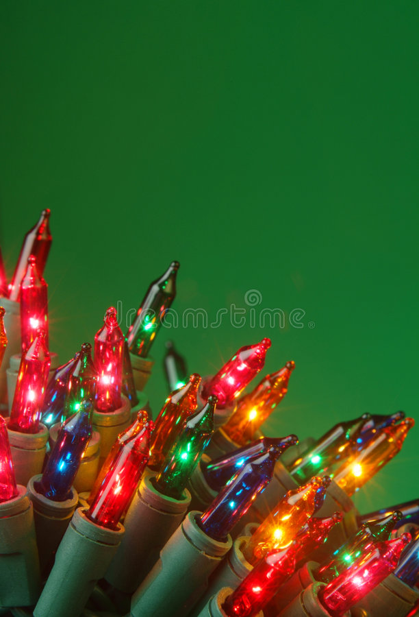 Groene Kerstmis stock foto's