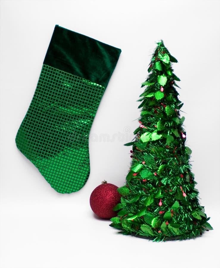 Groene Kerstmis stock afbeelding