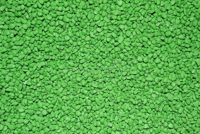 Groene kiezelstenentextuur royalty-vrije stock fotografie