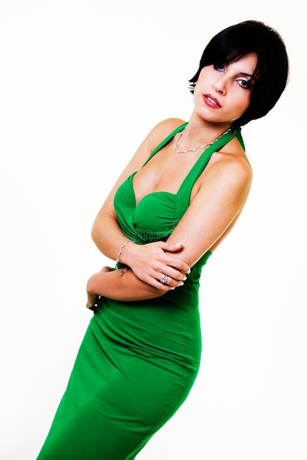 Groene kleding stock foto's