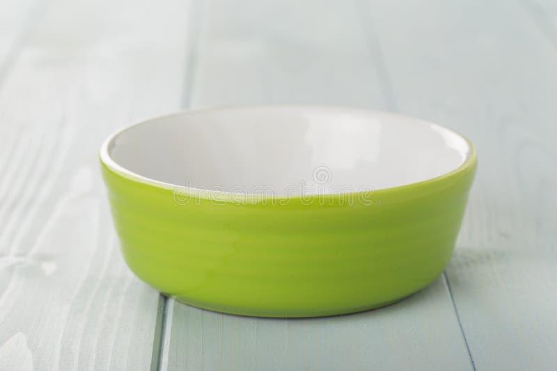 Groene kom stock fotografie