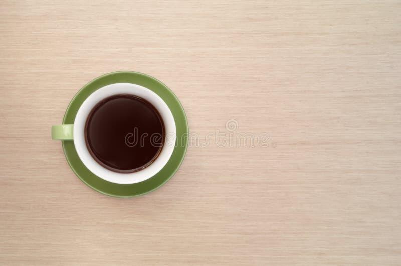 Groene kop van koffie royalty-vrije stock foto's