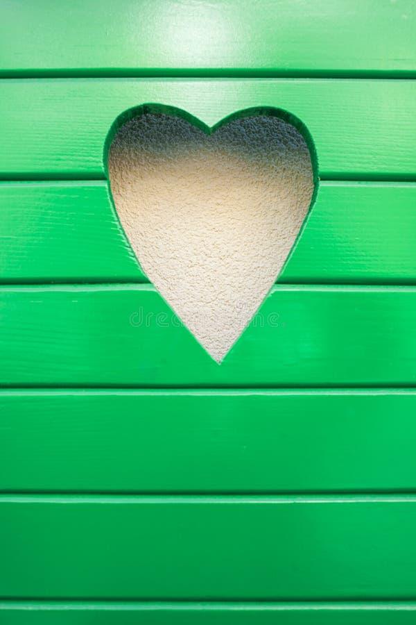 Groene liefde stock foto's