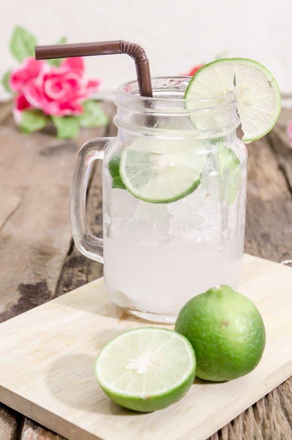 Groene limonade stock foto