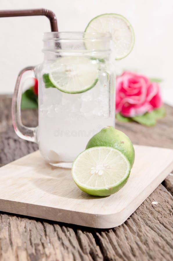 Groene limonade stock fotografie