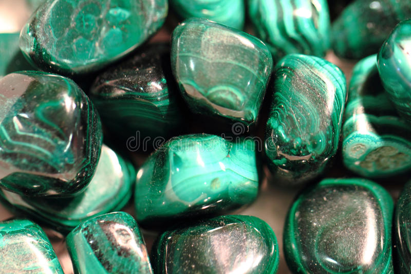 groene malachietmineralen royalty-vrije stock foto's