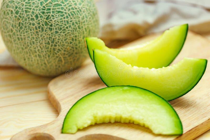 Groene meloen royalty-vrije stock foto's