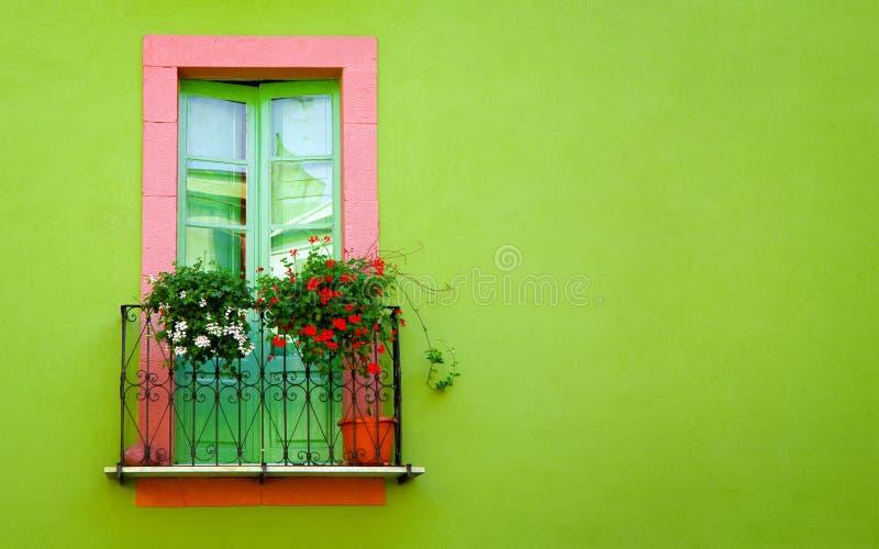 Groene muur stock afbeelding