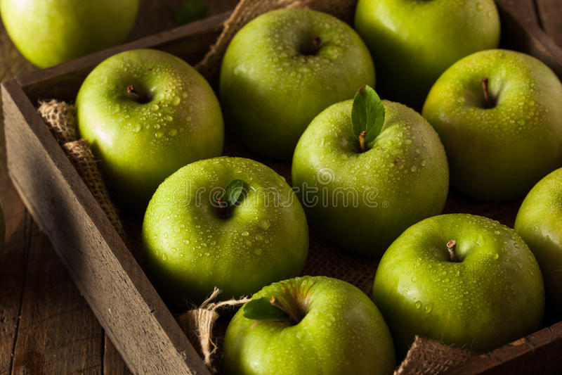 Groene Oma Smith Apple stock foto's