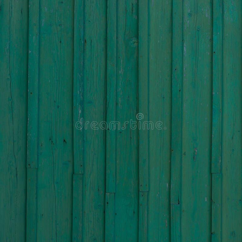 Groene oude houten achtergrond royalty-vrije stock foto