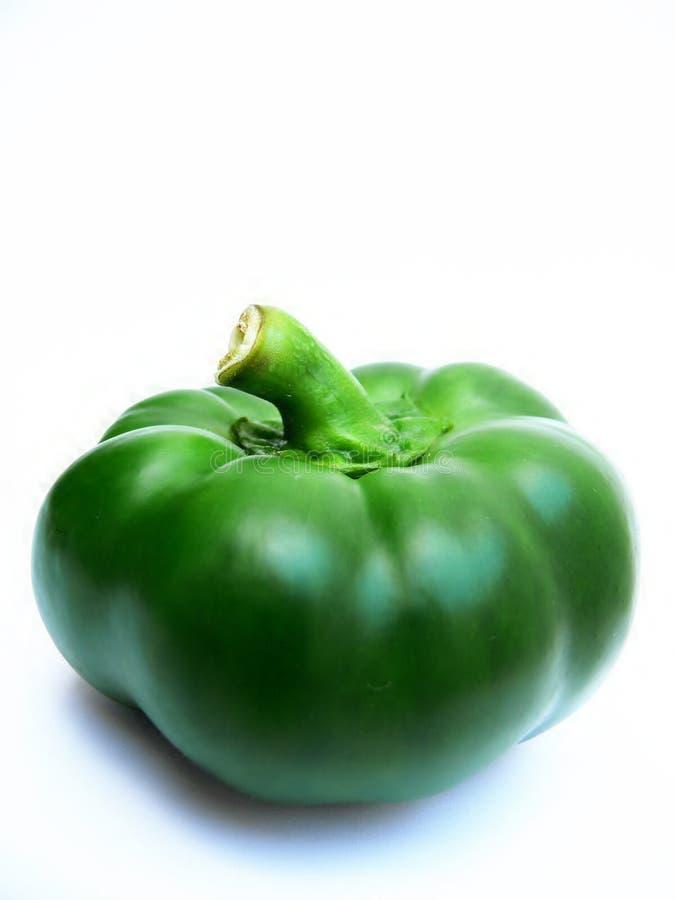 Groene paprika royalty-vrije stock afbeelding