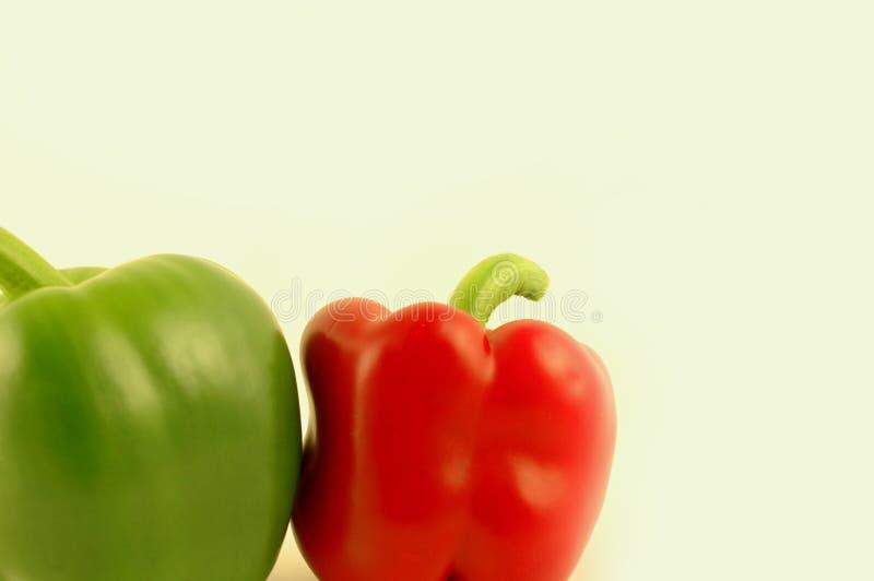 Groene paprika's 2 stock fotografie