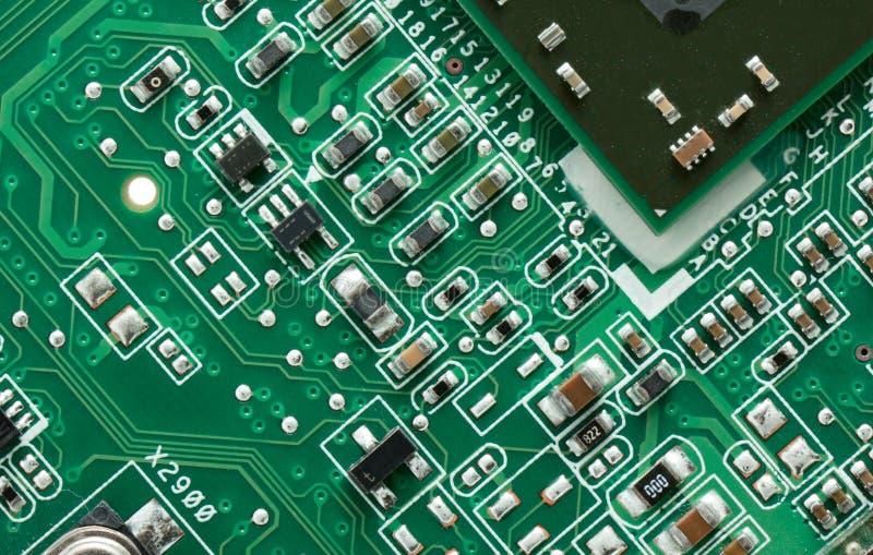 Groene PCB royalty-vrije stock foto's