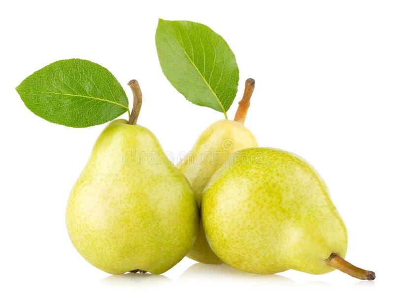 Groene peren stock foto's