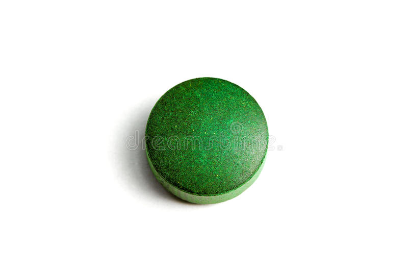 Groene pil royalty-vrije stock foto's