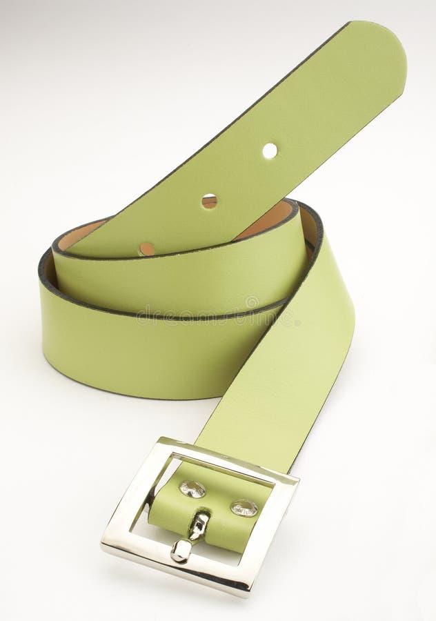 Groene riem stock foto