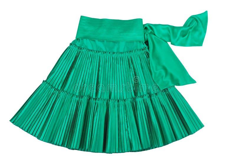 Groene rok stock afbeeldingen