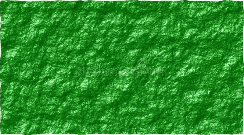 Groene ruwe muur abstracte vectorafbeeldingen als achtergrond royalty-vrije illustratie