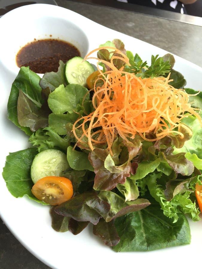 Groene salade stock afbeelding