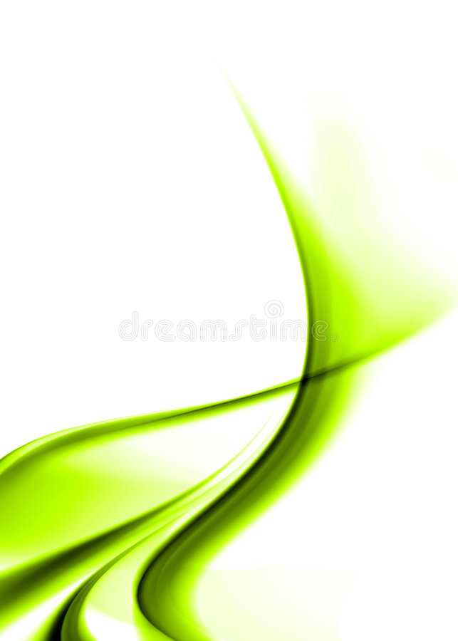 Groene samenvatting vector illustratie
