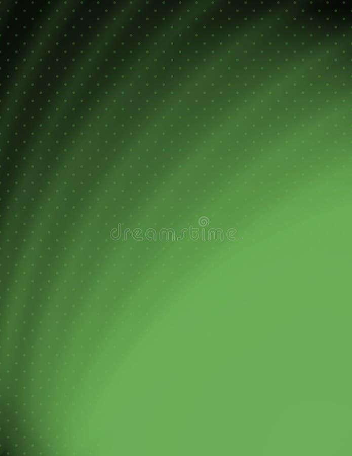 Groene samenvatting stock illustratie