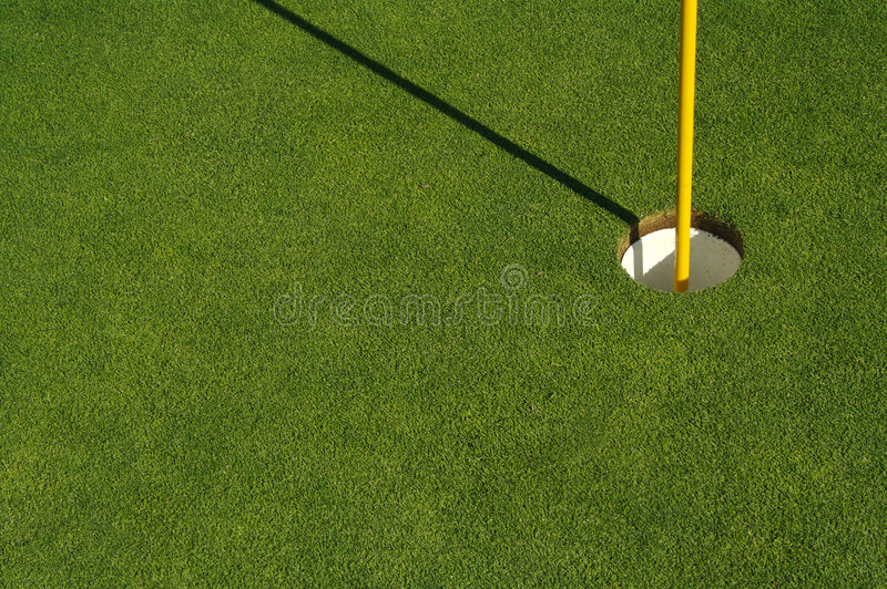 Groene samenvatting van Golf & Speld royalty-vrije stock afbeeldingen
