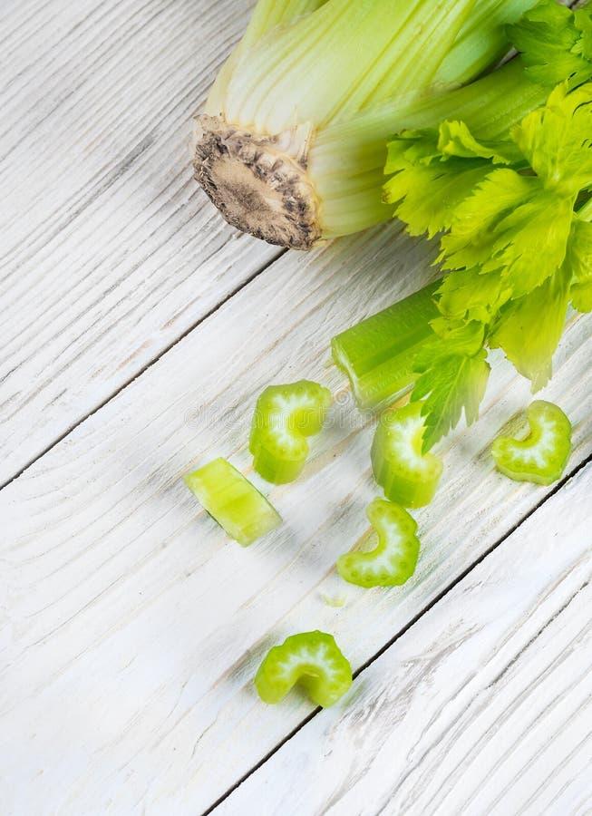 Groene selderie stock afbeelding