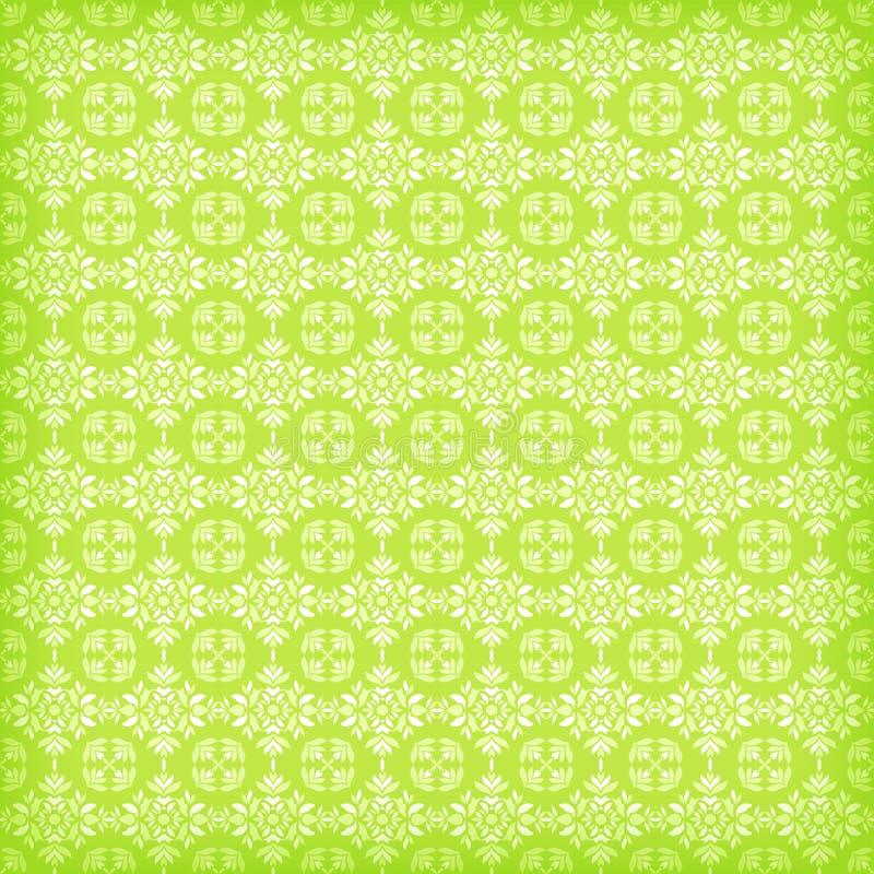 Groene sier naadloos royalty-vrije illustratie