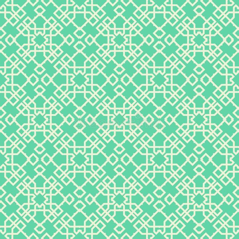 Groene sierachtergrond vector illustratie