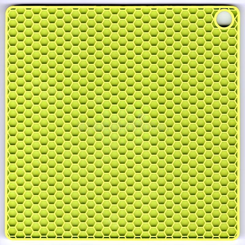 Groene siliciummat stock afbeelding
