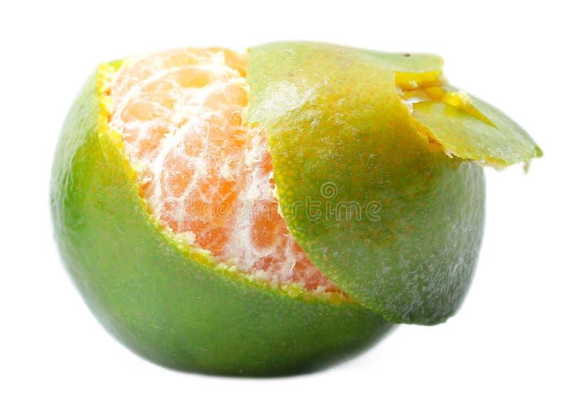 Groene Sinaasappel royalty-vrije stock foto's