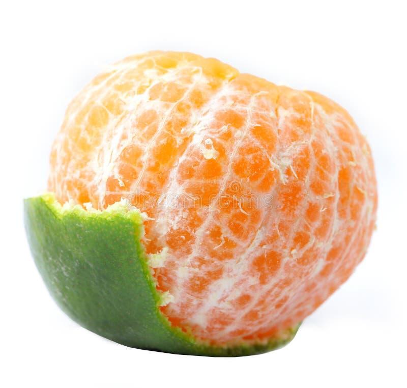 Groene Sinaasappel royalty-vrije stock foto