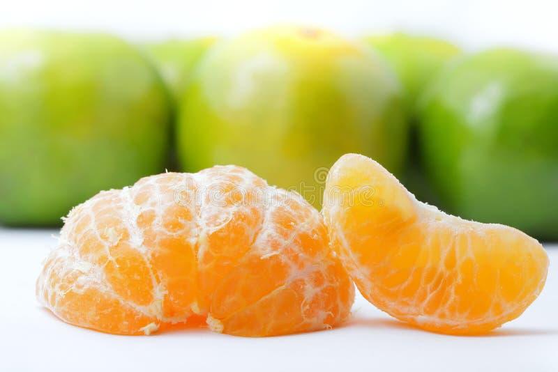 Groene Sinaasappel stock foto's