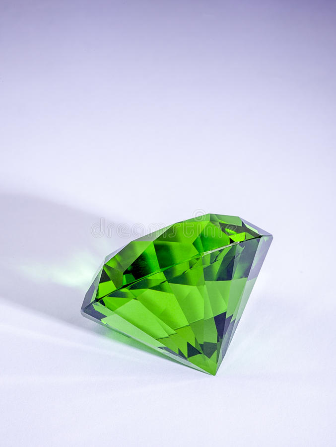 Groene smaragd royalty-vrije stock fotografie