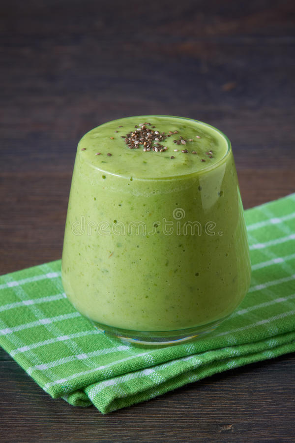 Groene Smoothie stock foto