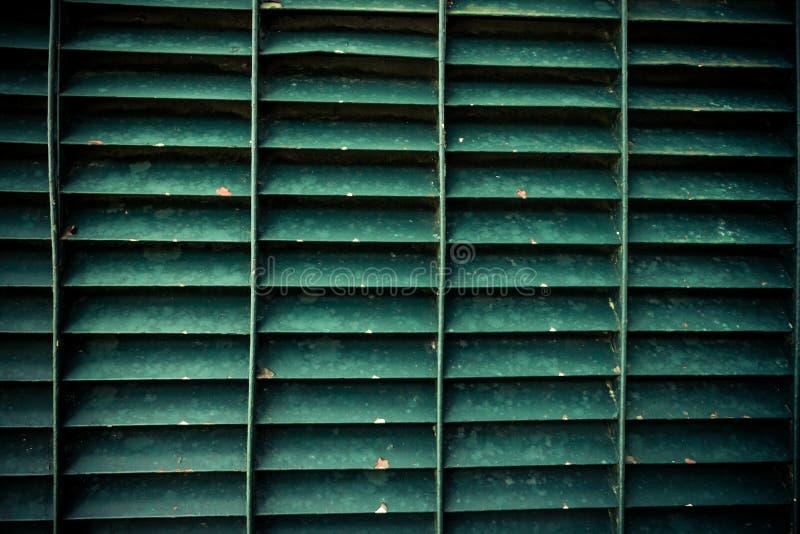 Groene staalgrating textuur royalty-vrije stock fotografie