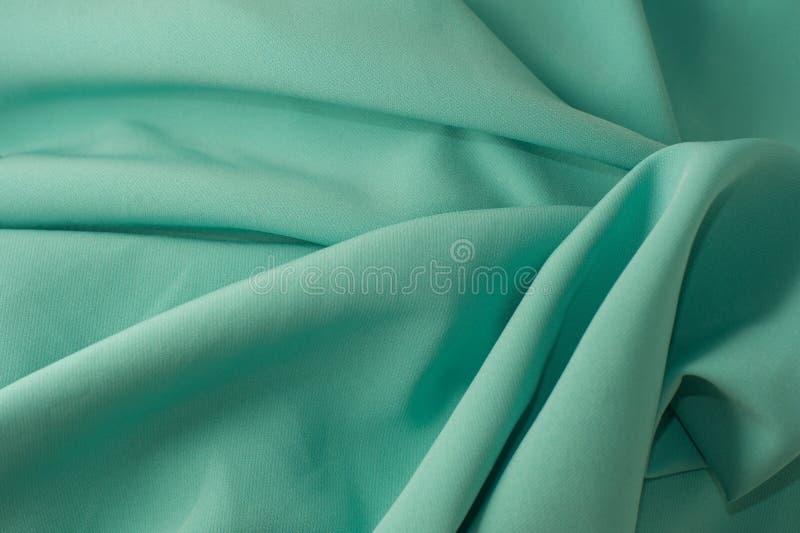 Groene stoffentextuur royalty-vrije stock afbeelding