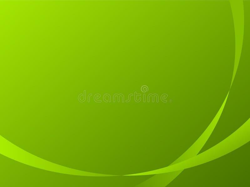 Download Groene strookachtergrond vector illustratie. Illustratie bestaande uit vlam - 39109595