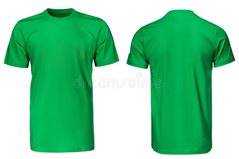 Groene t-shirt, kleren royalty-vrije stock foto's