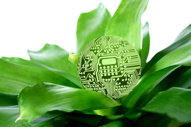 Groene Technologie vector illustratie