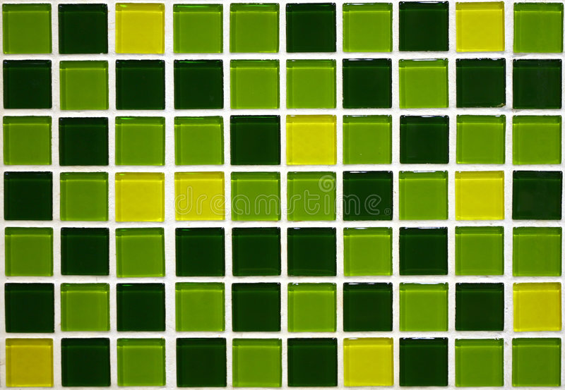 Groene Tegels stock foto