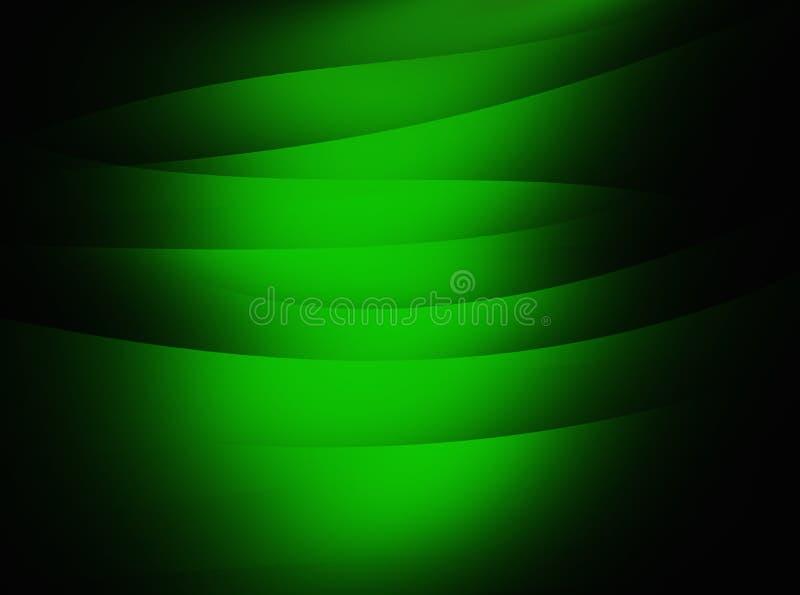Groene textuur achtergrondonduidelijk beeldgevolgen royalty-vrije illustratie