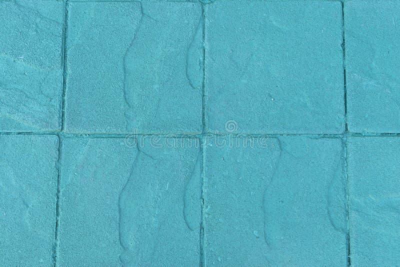 Groene textuur van vloer gemaakt van flagstone bij schoon en eenvoudig voor achtergrond royalty-vrije stock foto