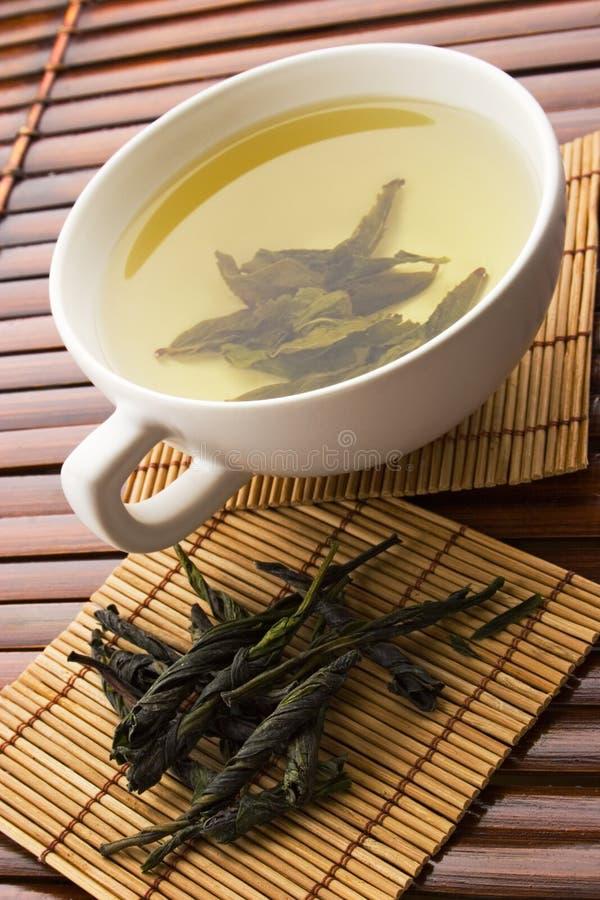 Groene thee stock foto's