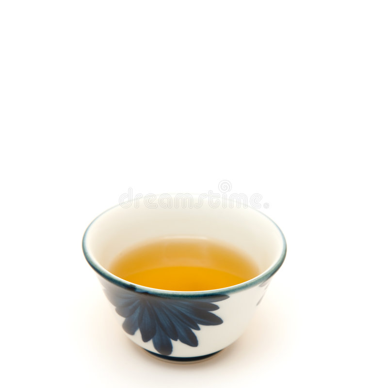 Groene thee royalty-vrije stock fotografie