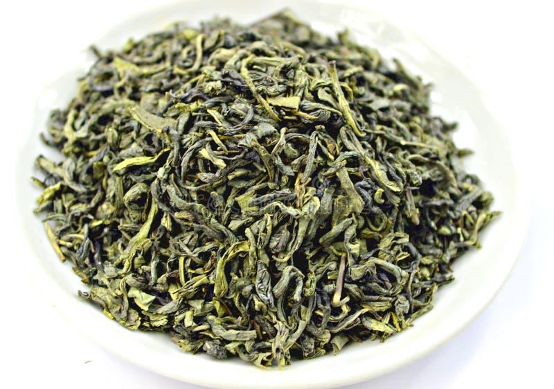 Groene Thee Ceylon stock afbeelding