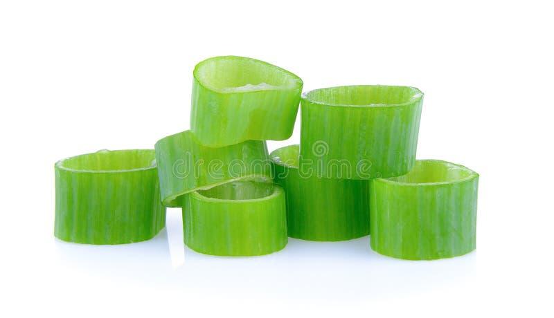 Groene uiplak royalty-vrije stock afbeeldingen