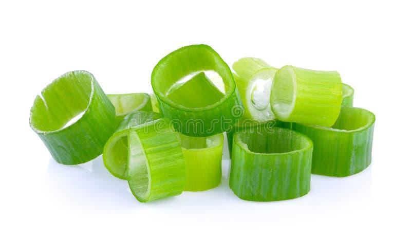 Groene uiplak stock foto's